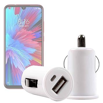 con Dos Puertos USB DURAGADGET Cargador Mechero del Coche para Smartphone Xiaomi Redmi Note 7 Pro Energizer Power MAX P18K Pop