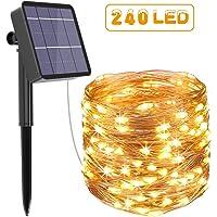 Guirnalda Luces Exterior Solar, Kolpop Luces Exterior, LED