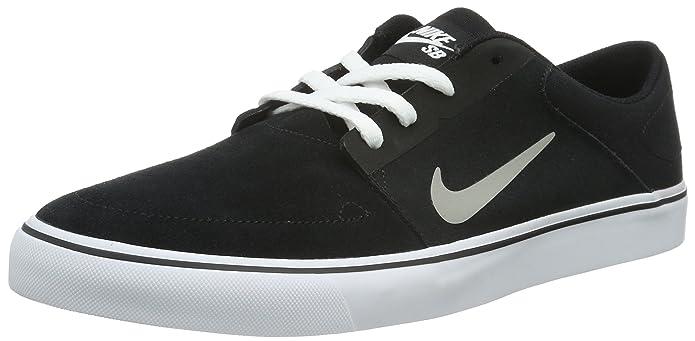 Amazon.com: Nike Sb Portmore Black/Medium Grey-White-Gym Light Brown Style: 725027-012 Size: 8: NIKE: Shoes
