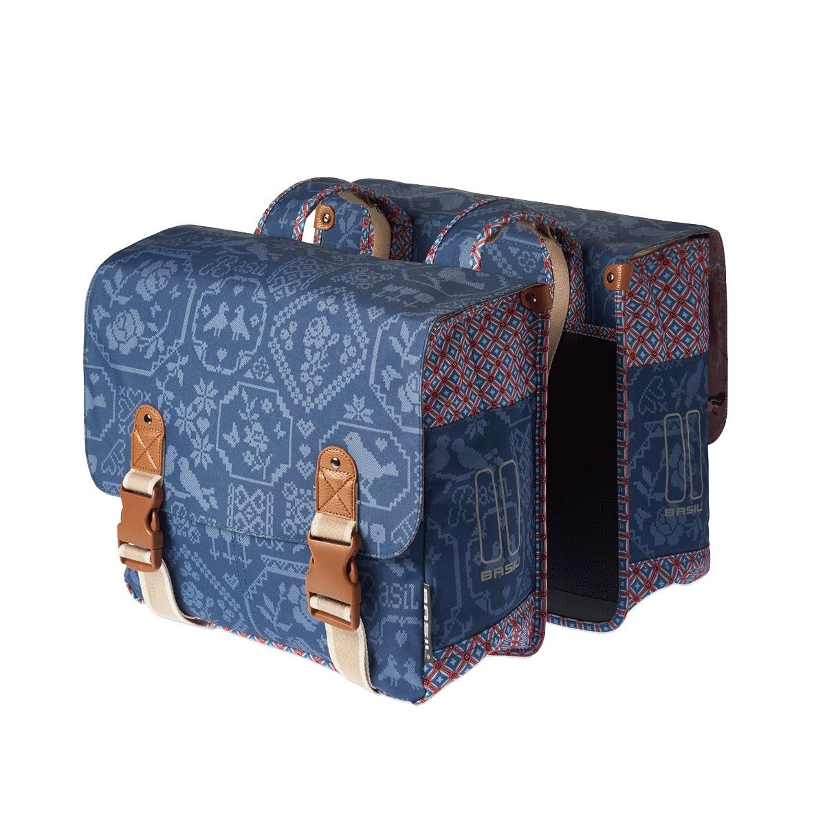 Associated product image for Basil Boheme Double Bicycle Pannier Bag