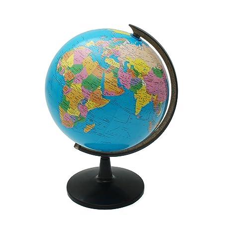 Revolving globe world 32cm rotating world earth globe map revolving globe world 32cm rotating world earth globe map geography education toy desktop decor gumiabroncs Images
