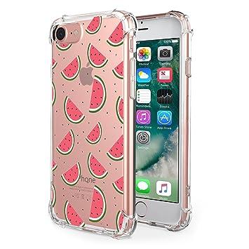 JEPER Funda iPhone 6/6S/6 Plus/6S Plus/7 Carcasa Silicona Transparente Protector TPU Airbag Anti-choque Ultra-delgado Anti-arañazos Case para Apple ...