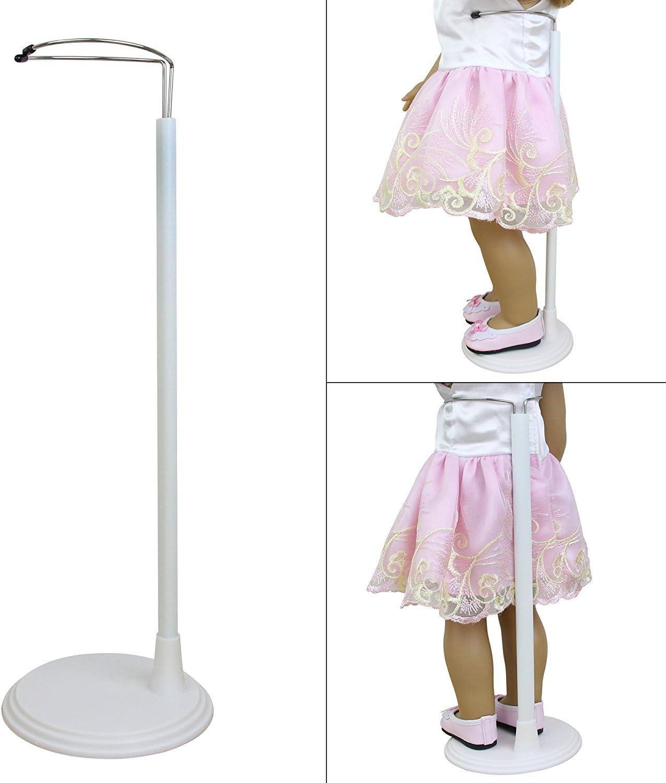 5 PZ bambola di plastica Display Stand Supporto Accessori per bambole oiuk