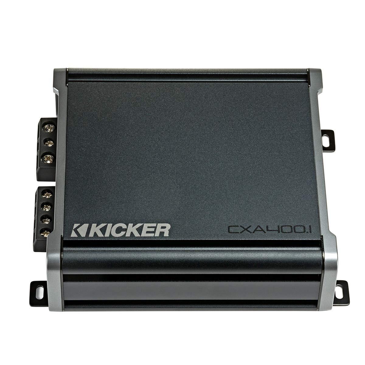 Kicker 46CXA4001 Car Audio Class D Amp Mono 800W Peak Sub Amplifier CXA400.1 New by KICKER