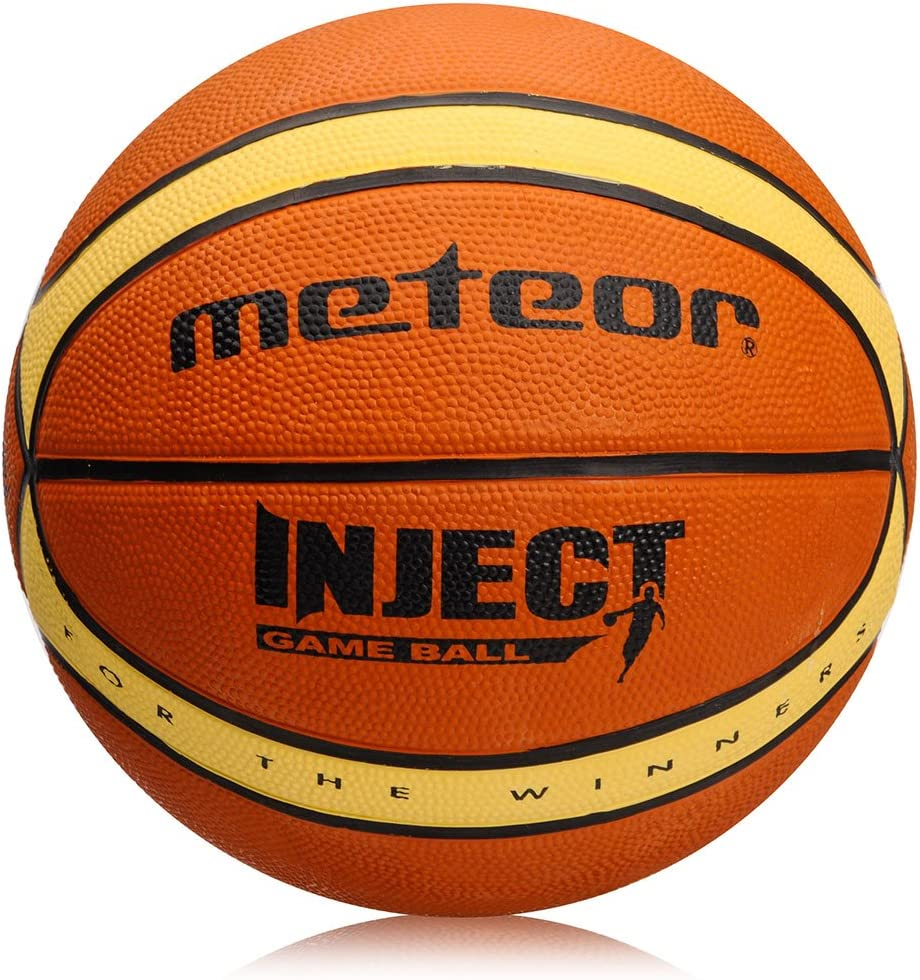 meteor Basketball Size 3 Layup Children Kids Youth Mini Basket ball 3 to 10 Years Perfect for Training Soft Basketball With Non-Slip Surface Indoor Outdoor size #3 Size 3 Ideal For Gift