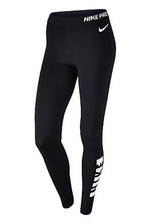 0c8696b882f Nike Pro Warm Women s Tights - Black -  Amazon.co.uk  Clothing