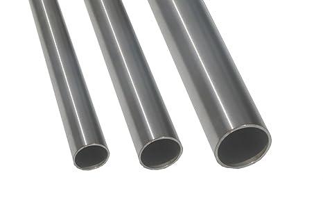 Tubo de acero inoxidable V2 A de BASIT® barandilla de acero ...