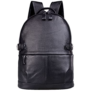 Amazon.com | AB Earth Womens Cow Leather Backpack Handbag, M752 ...
