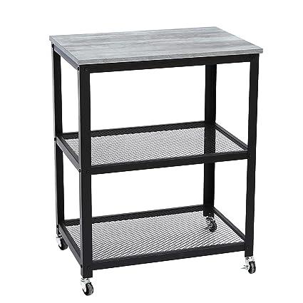 Amazon.com - Joveco 3-Tier Kitchen Utility Cart on Wheels ...