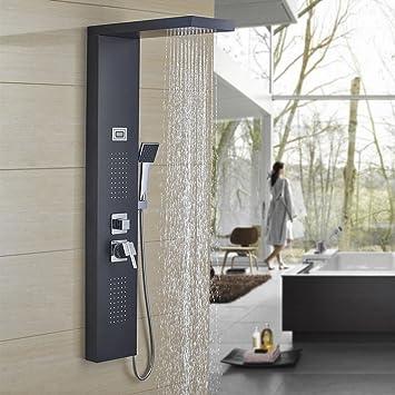 Auralum panel de ducha columna de ducha ststème de ducha 3 ...