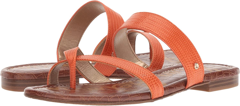 Sam Edelman Women's Bernice Slide Sandal B078SYTJSN 7.5 W US|Tangelo Vaquero Saddle Leather