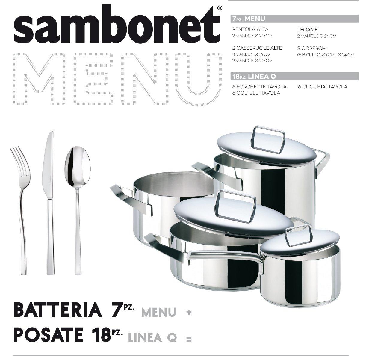 Sambonet Serie Menù Casseruola alta