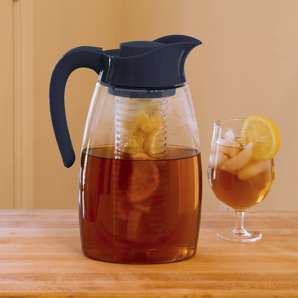 Primula Flavor-It Beverage System – Includes Large Capacity Fruit Infuser Core, Tea Infuser Core, and Chill Core
