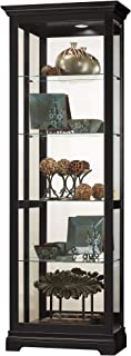 product image for Howard Miller Brantley II Curio Cabinet, Black