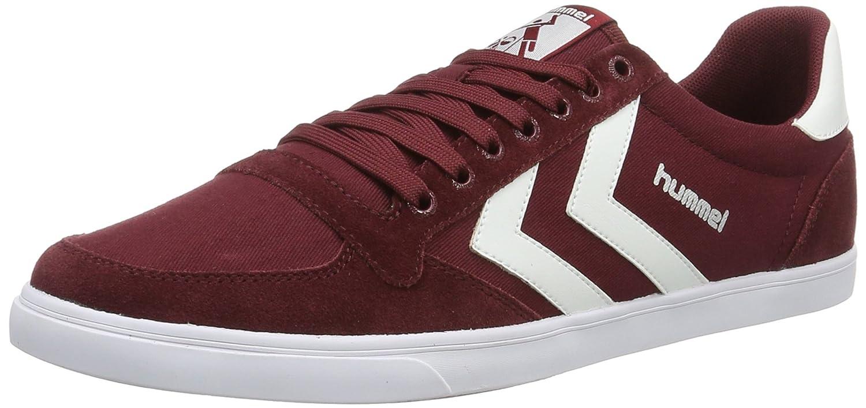 Hummel Slimmer Stadil Low, Sneakers Basses Mixte Adulte, (Cabernet), 43 EU