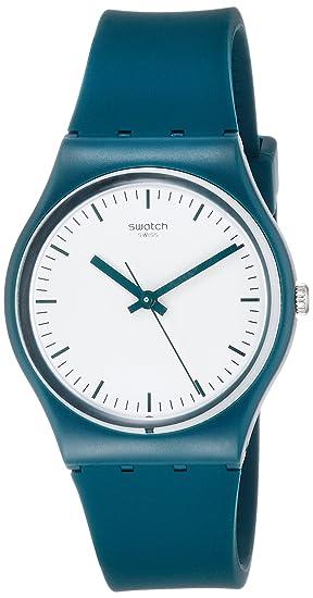 Swatch Reloj Digital para Unisex de Cuarzo con Correa en Silicona GG222: Amazon.es: Relojes