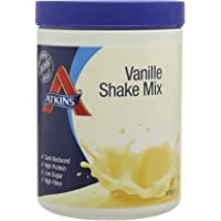 Atkins Low Carb, Vanilla High Protein Shake Mix, 370g (10 Servings)