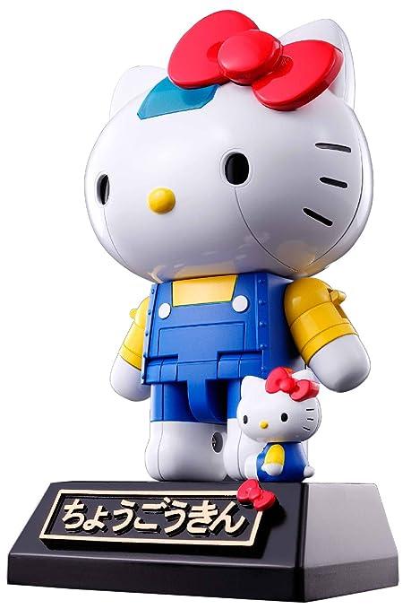 28bac0953 Amazon.com: Bandai Tamashii Nations Chogokin Hello Kitty Diecast Action  Figure: Toys & Games