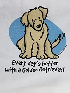 product image for Every Day's Better with a Golden Retreiver Nightshirt