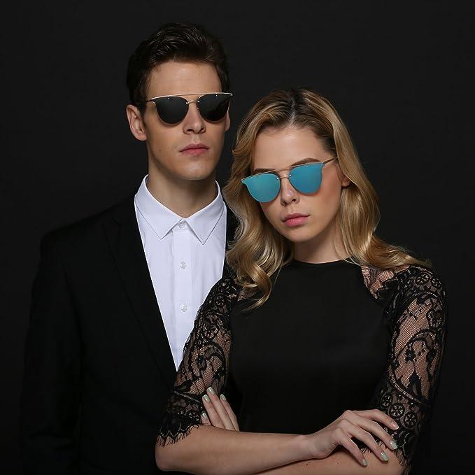 LEDING Polarisierte Sonnenbrille für Herren DamenSommer
