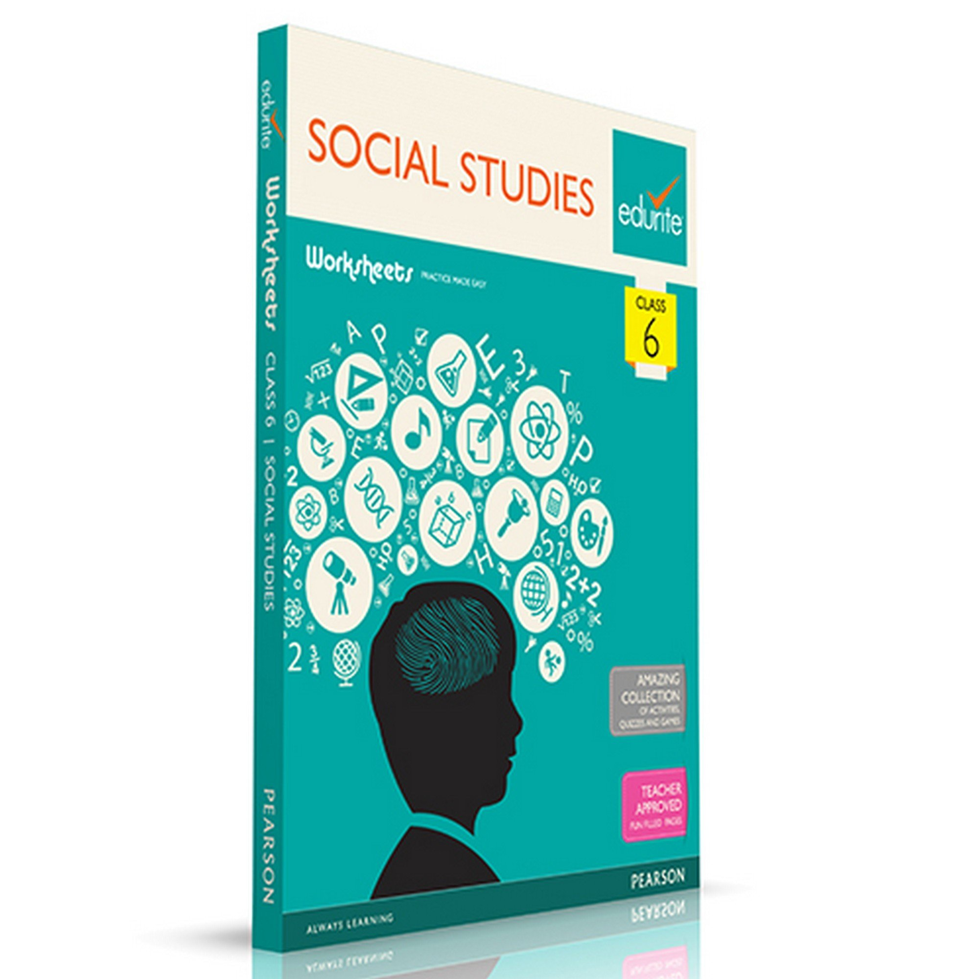 Buy Edurite\'s Worksheets of Social Studies (SST) for Class 6 Book ...