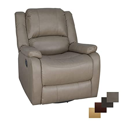 Rv Chairs Recliners >> Recpro Charles Collection 30 Swivel Glider Rv Recliner Rv Living Room Slideout Chair Rv Furniture Glider Chair Putty