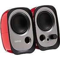Edifier R12U Active USB Powered Multimedia Speaker System – Bass Reflex, 3.5mm AUX Port, Headphone Jack, Master Volume…