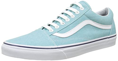 815461e9f844 Vans Shoes – Old Skool (Washed Canvas) blue blue white size  42 ...