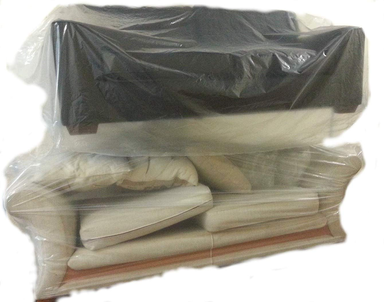 Dining Office Chair Footstool Storage Sofa Furniture Settee Dust Sheet Bag Cover Small to Large Moving Removal Multi Size Packs Available