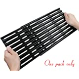 Rollgan Extension Cooking Grate Porcelain Steel Adjustable Replacement BBQ Grills Gas Grills Electric Grills Cooking Grid (8