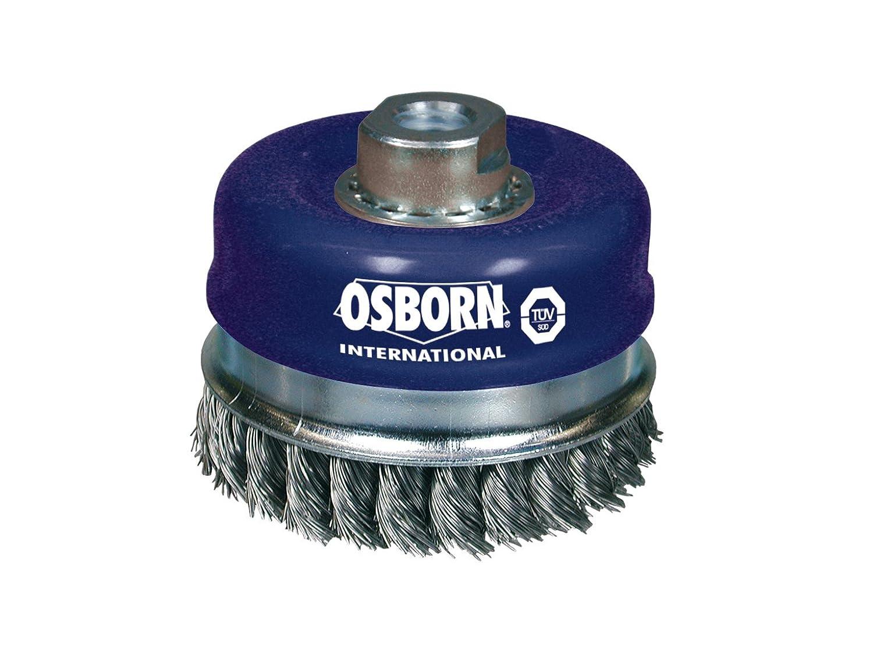 Osborn 2504161 Steel Wire Wheel Brush, Silver, 50 mm 2608153