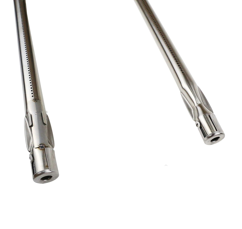 con Up Front controles bar b.q.s barbacoa quemador de gas parrilla de acero inoxidable tubos de repuesto para Weber Spirit 200/Series Modelo a/ños 2013/y M/ás