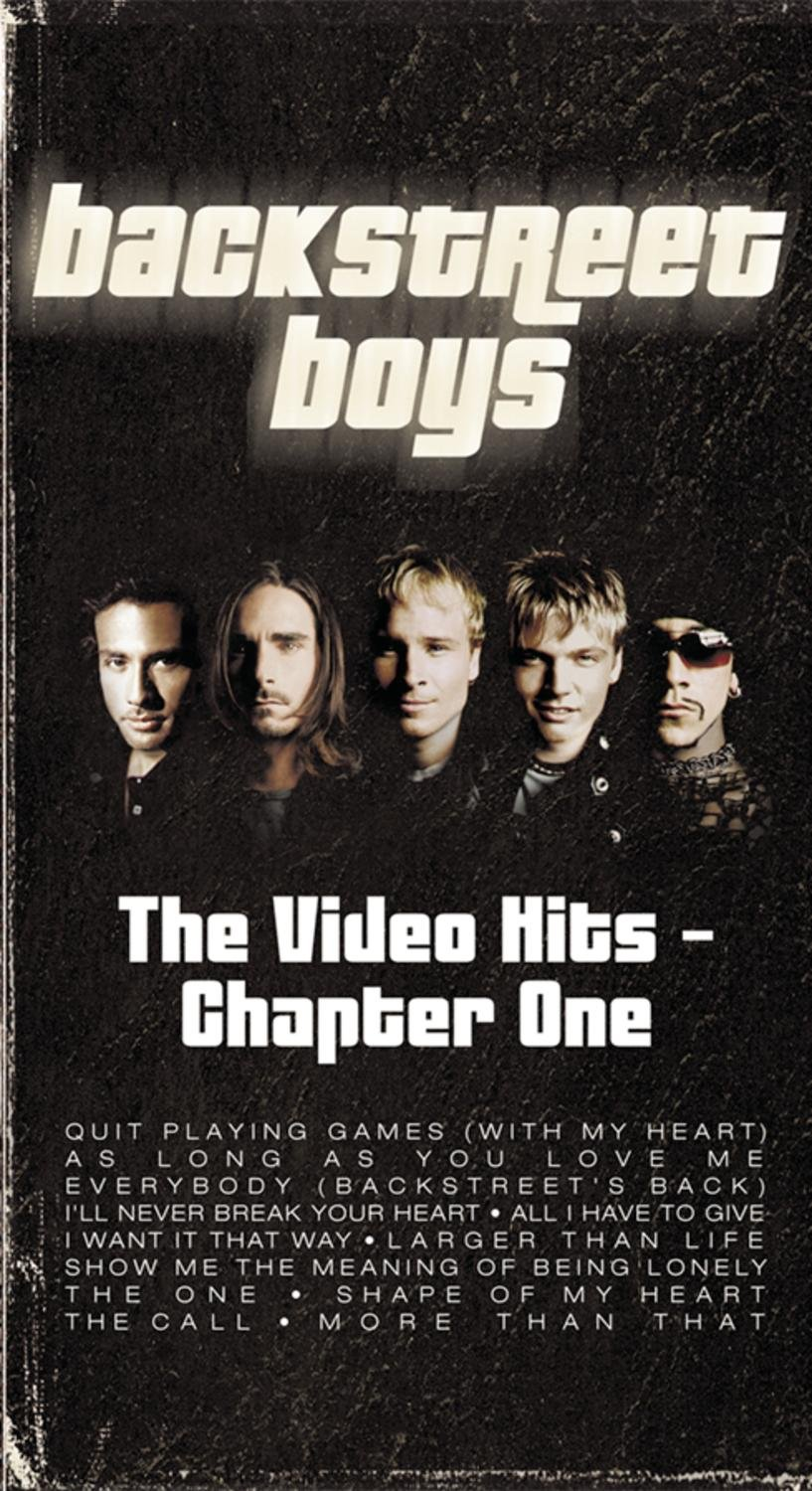 The Video Hits: Chapter One Backstreet Boys Nick Carter Brian Littrell A.J. McLean