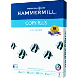 Hammermill Paper, Copy Plus, 20lb, 8.5 x 11, letter, 92 Bright, 500 Sheets / 1 Ream (105007R), Made In The USA