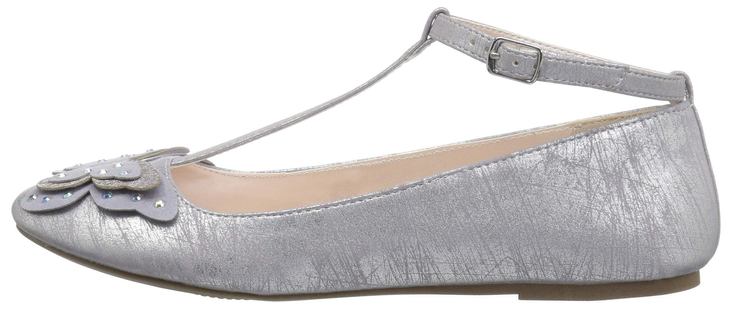 The Children's Place Girls' T-Strap Ballet Flats, Light Lavender, Youth 3 Child US Little Kid by The Children's Place (Image #5)