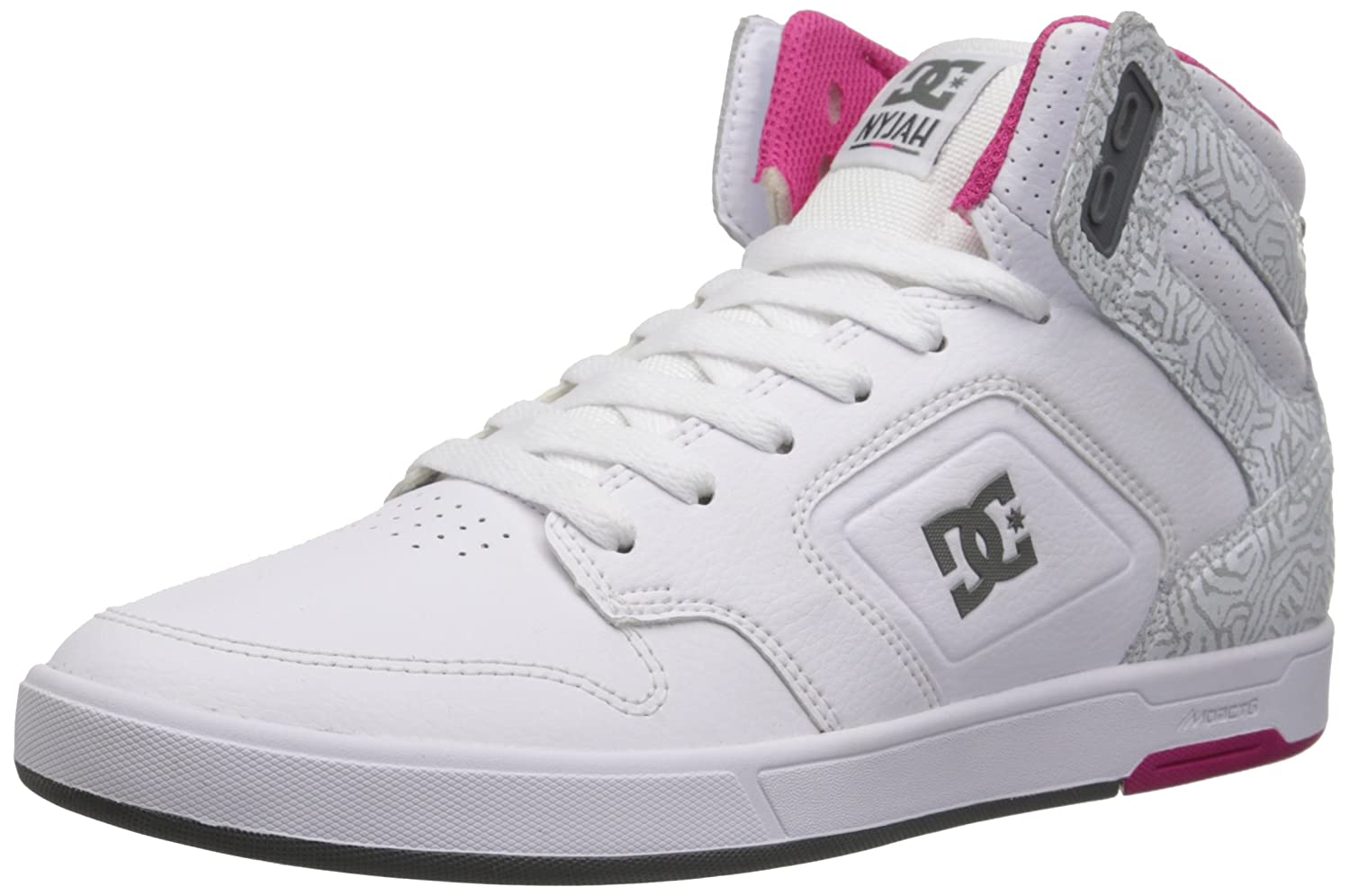 DC Shoes Nyjah High, Baskets mode femme 37 EU ADJS100048