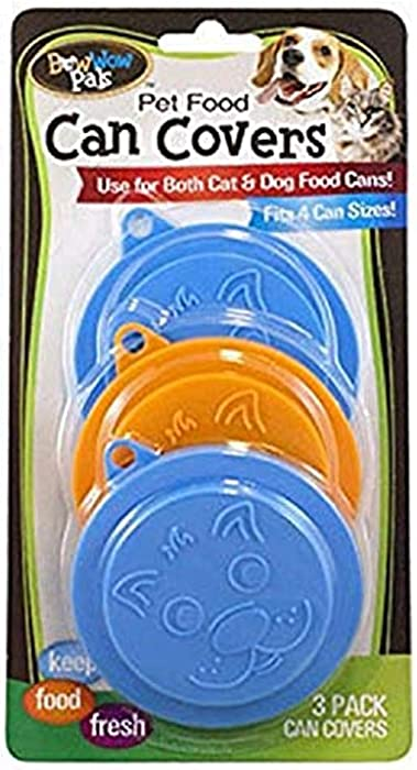 Bow Wow Pet Food Can Covers, 3-Pack