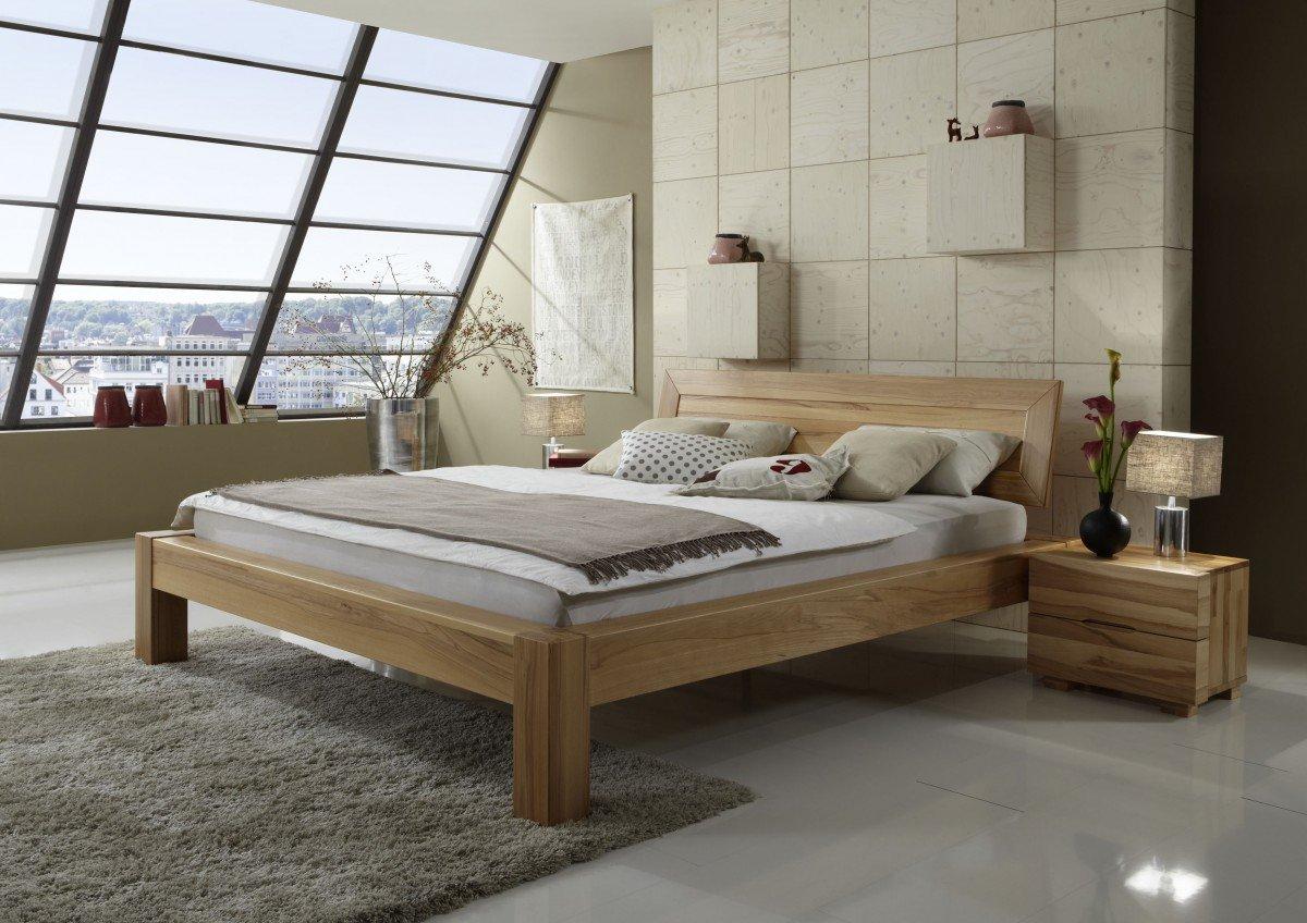 Dreams4home Massivholzbett Barcelona Massivholzbett Bett