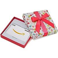cp339339.com.de Geschenkkarte in Geschenkbox (Bunte Punkte) - mit kostenloser Lieferung per Post
