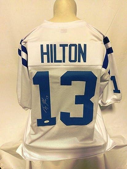 best sneakers 8a70e 093c1 Autographed T.Y. Hilton Jersey - TY Custom White - JSA ...