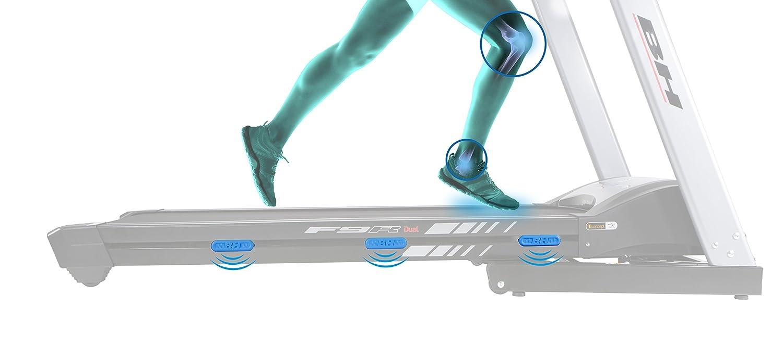 Bh Fitness - Cinta de correr i.f9r dual + dual kit tt: Amazon.es ...