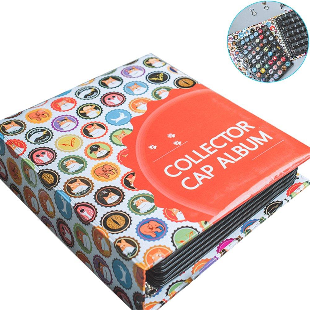 TINTON LIFE High-Capacity Beer Bottle Cap Collector Album