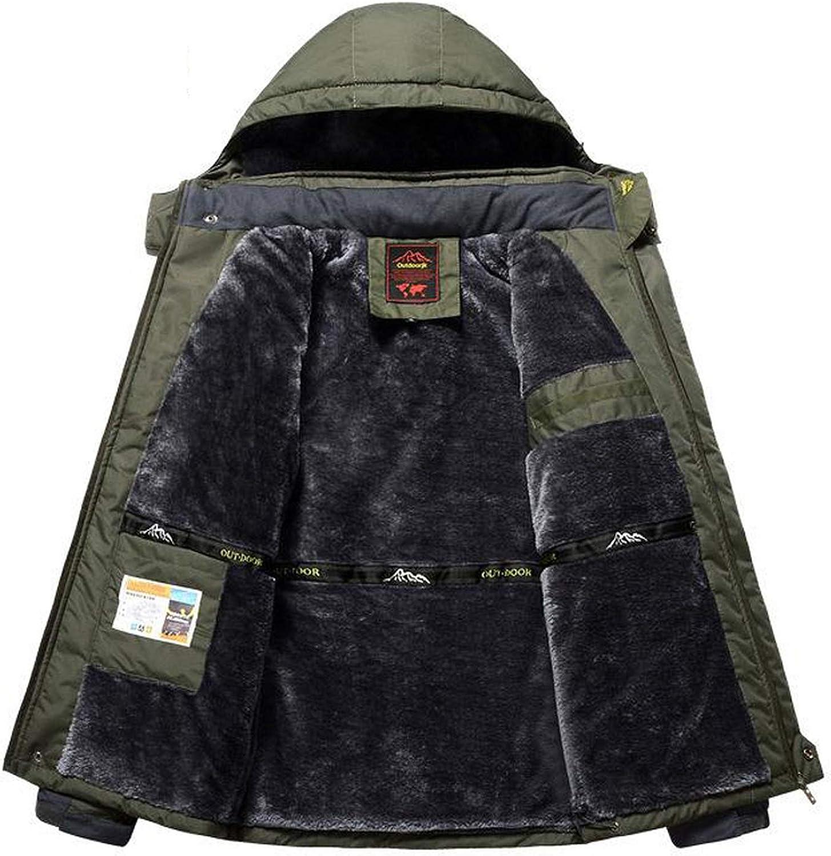 Men Winter Parka Thermal Waterproof Windproof Outwear Mens Winter Military Jackets