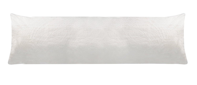 Amazon.com: Sleep Solutions Faux Fur Body Pillow Case, Latte: Home ...