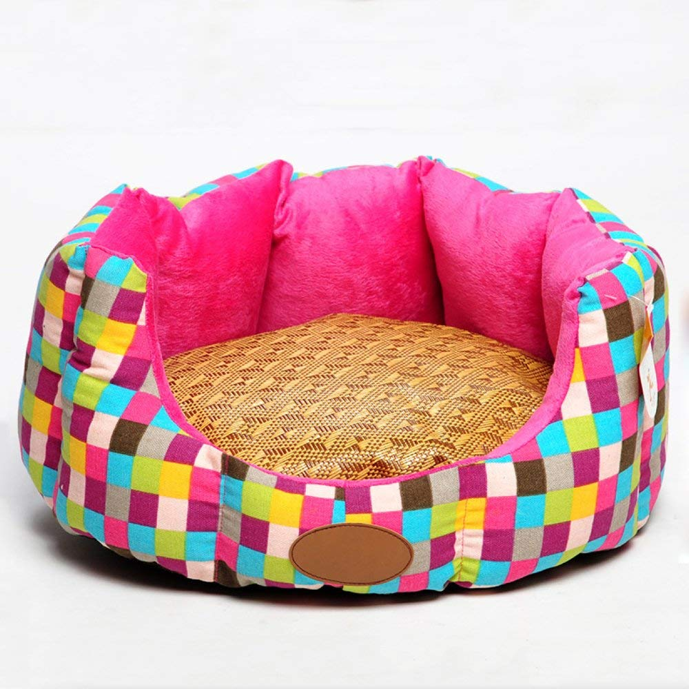 B 454018cm 18167in B 454018cm 18167in Kennel Pads Dog Beds Kennel Cat Litter Box Detachable Cushion Dog Sofa Seasons Universal Anti-bite Litter Pet Winter Bed Cat Bed Pet Supplies Cover (color   B, Size   45  40  18cm 18  16  7in)