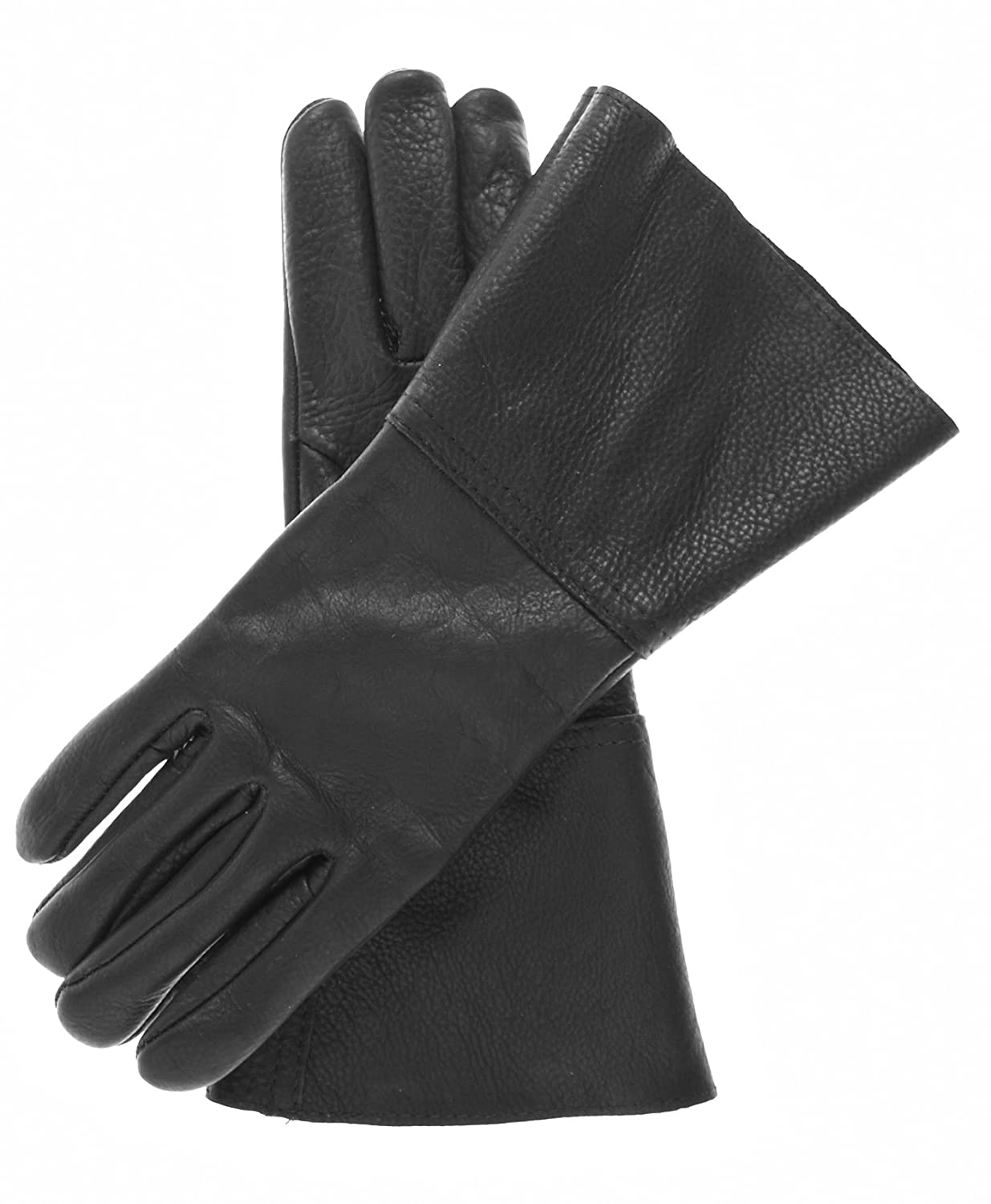 Edwardian Men's Accessories Leather Gauntlets $74.95 AT vintagedancer.com