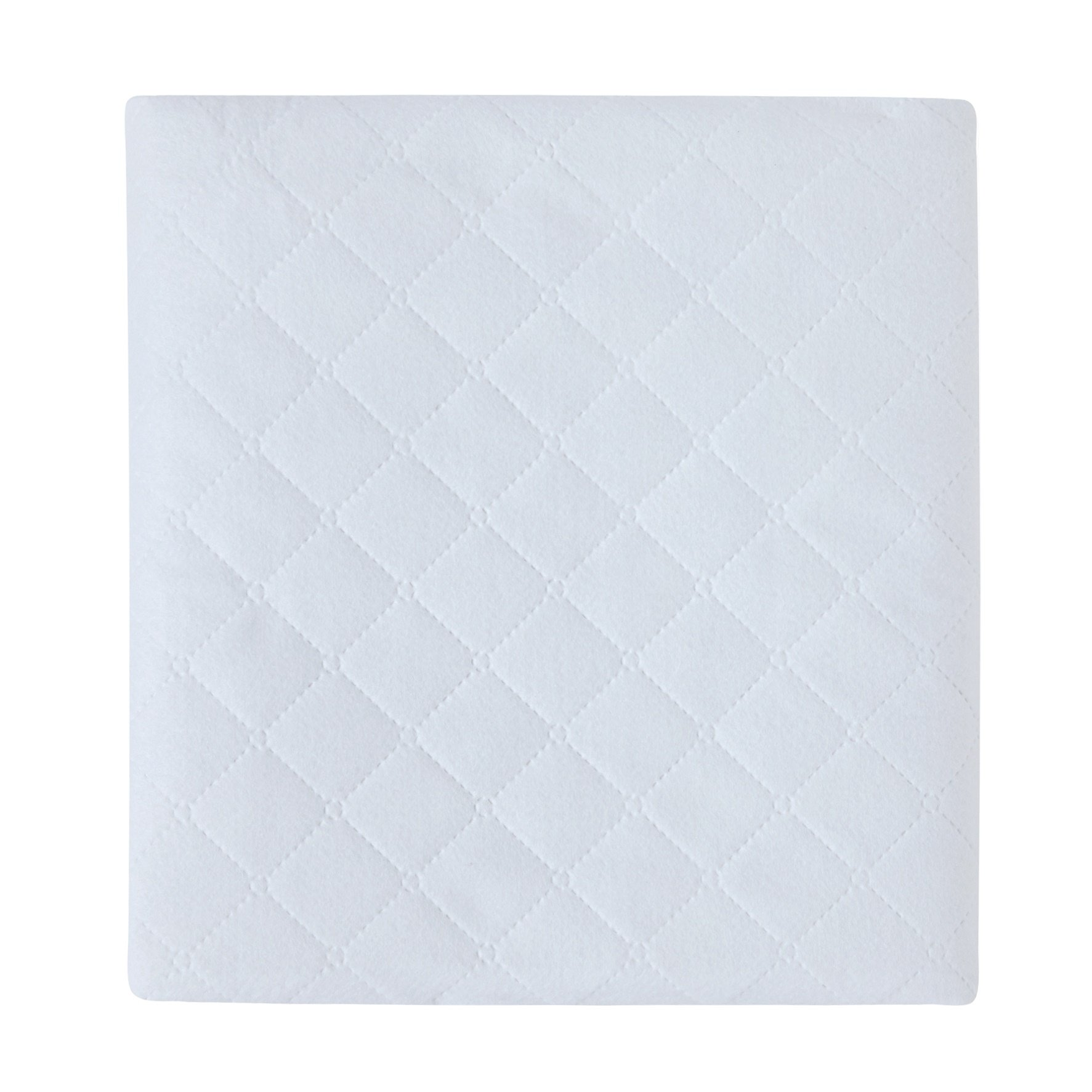 Carter's 2-Pack Waterproof Fitted Crib Mattress Pad, White