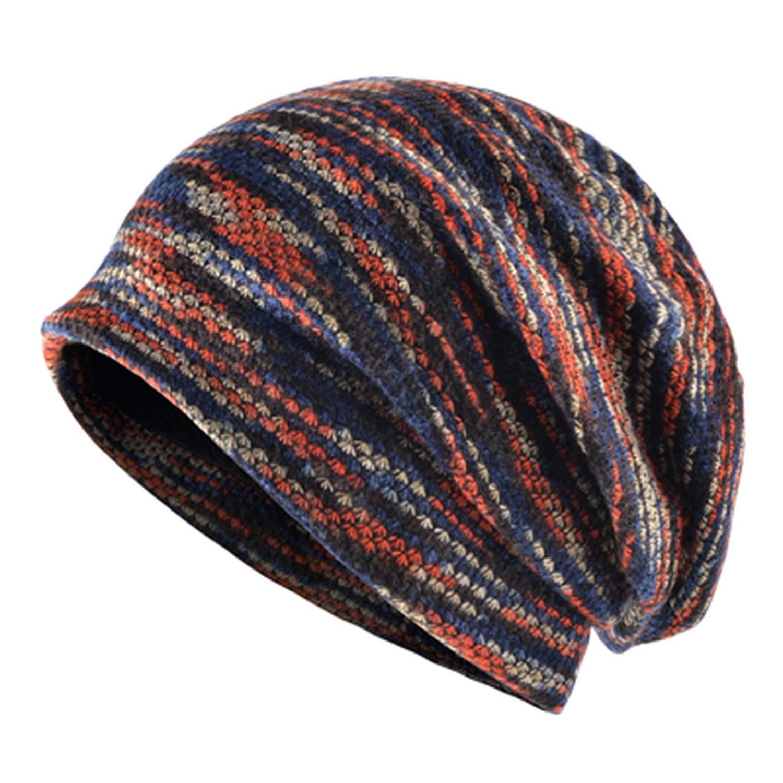 Skullies Knitted Wool hat Mens Cap Beanies Men Bonnet Plus Velvet Hats for Women Bone