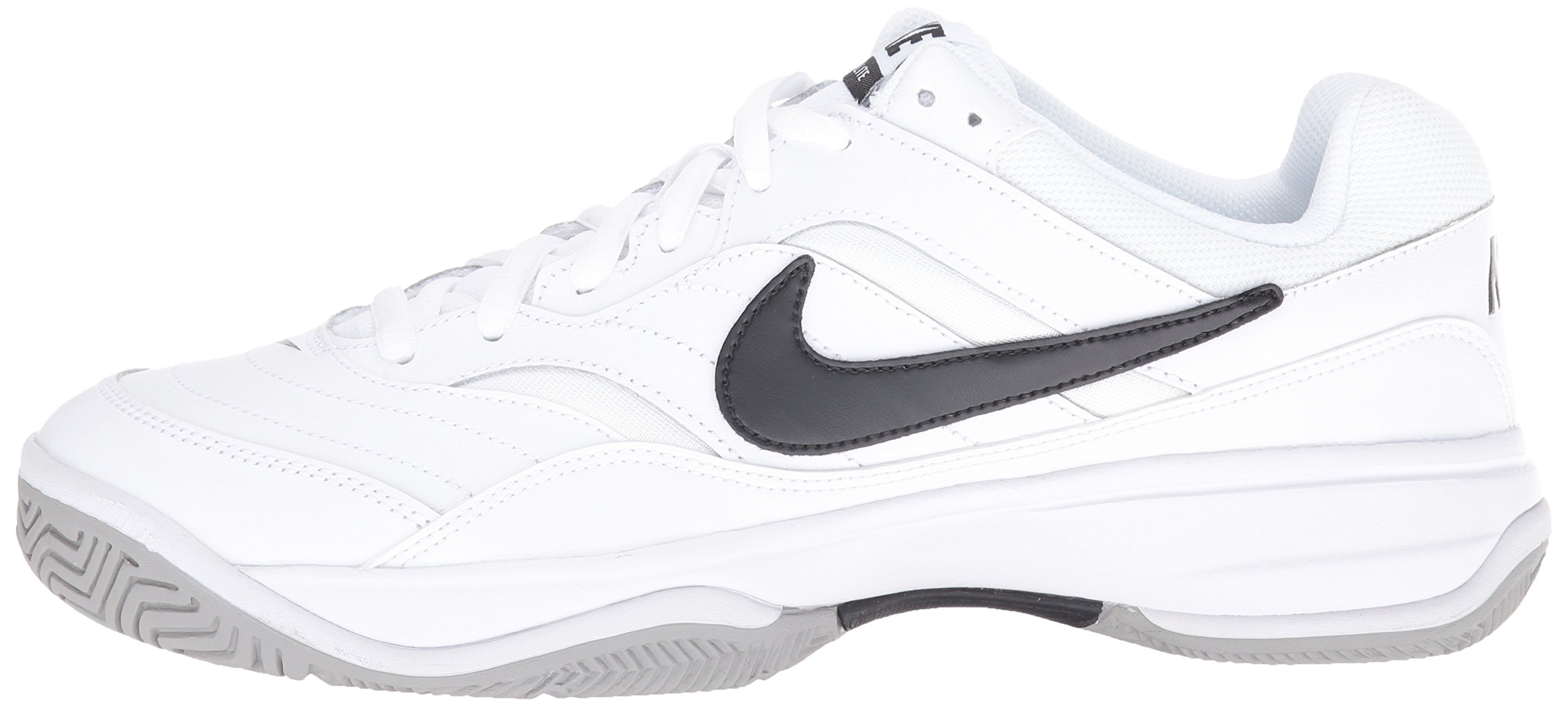 NIKE Men's Court Lite Tennis Shoe, White/Medium Grey/Black, 6.5 D(M) US by Nike (Image #5)