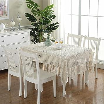 Tischdecke Vintage Crochet Tischdecke Handarbeit häkeln (Rechteck ...